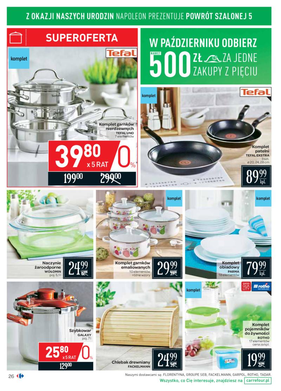 f5da250e5ff79 Carrefour gazetka 18.10.2017 październik