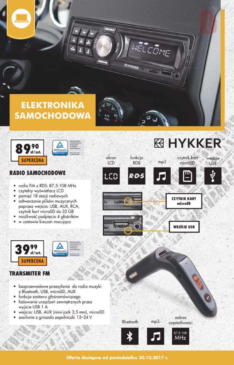 Biedronka Gazetka 30102017 Październik Transmiter Fm Hykker