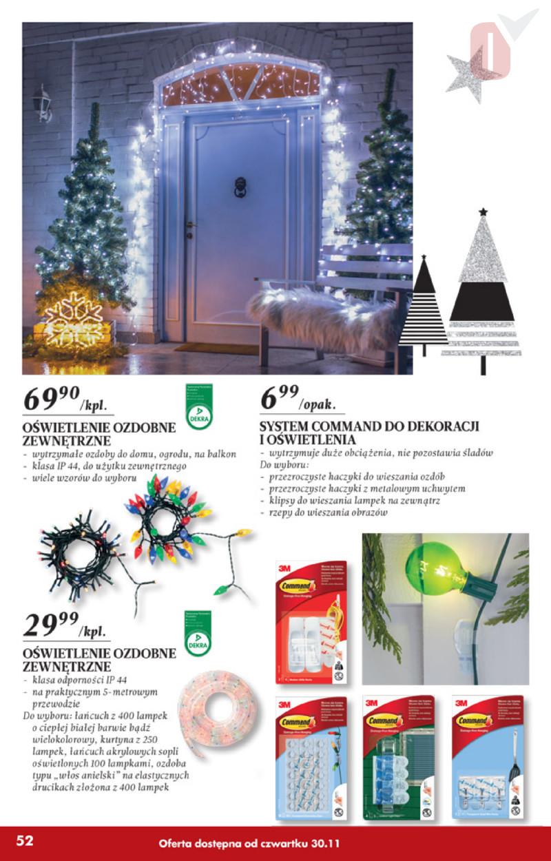 Biedronka Gazetka 30112017 Listopad Lampki Oświetlenie