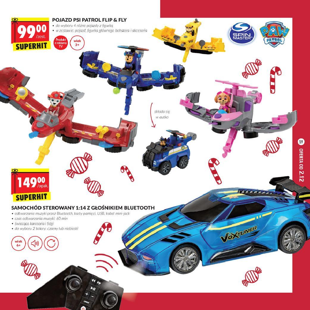 Biedronka Zabawki na Święta 2019 samochód sterowany z
