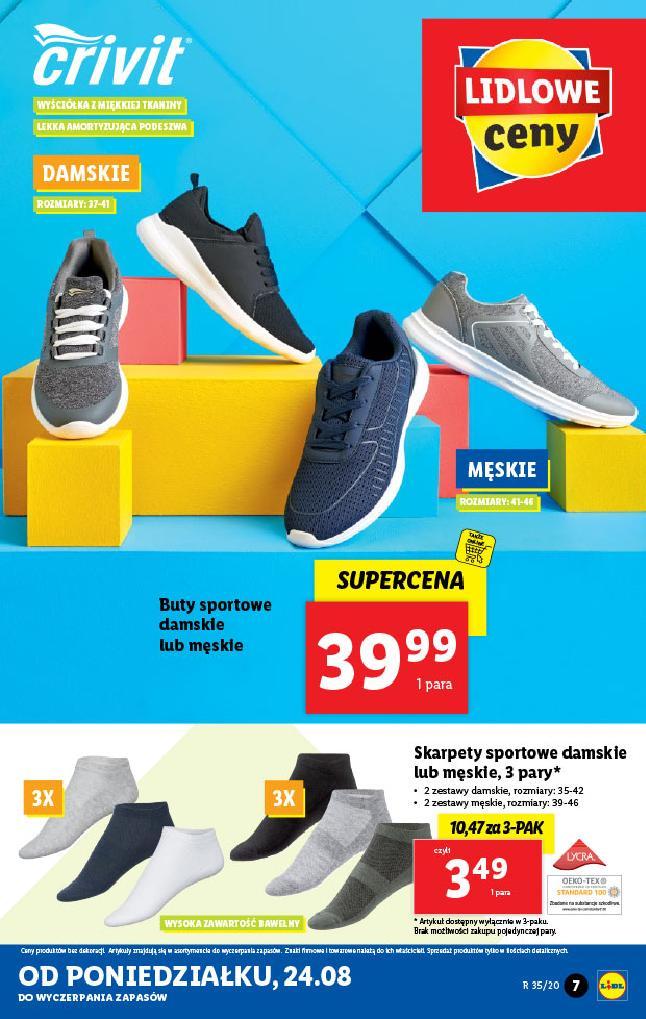 Lidl 24 08 2020 Katalog Buty Sportowe