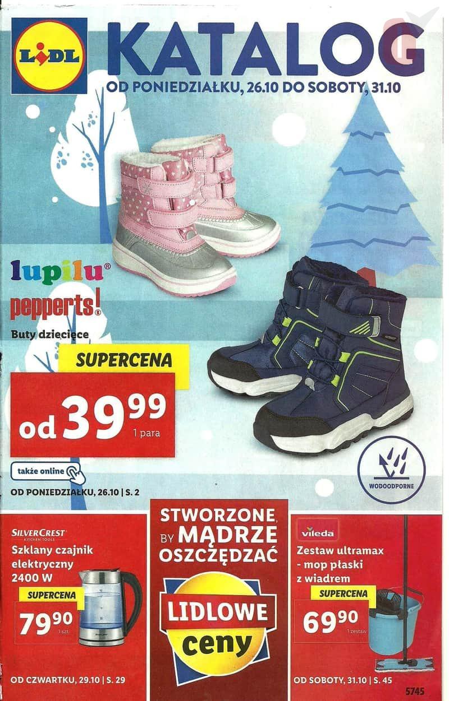 Lidl 26 10 2020 Katalog Buty Zimowe Dzieciece