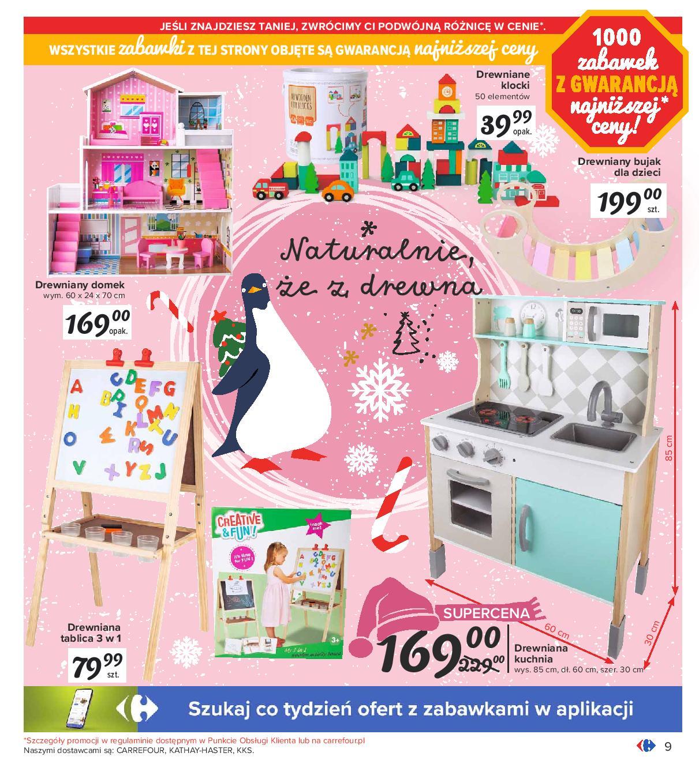 Carrefour Zabawki Swieta 2020 Drewniana Kuchnia Do Zabawy Tablica Domek Dla Lalek Klocki Drewniane Bujak Dla Dzieci