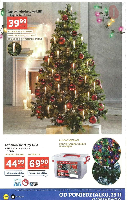 Lidl 23 11 2020 Katalog Lampki Choinkowe Z Klipsami